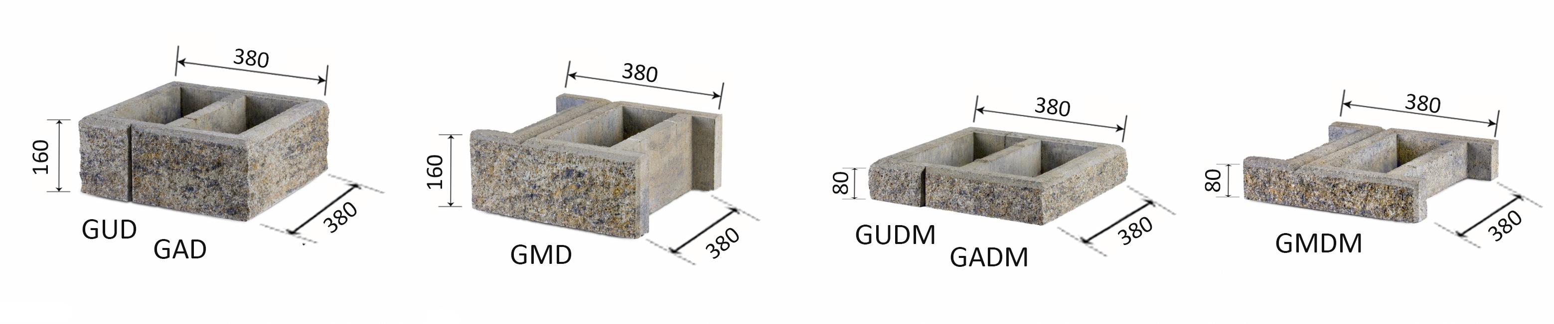 Aedade ehitusplokid G2
