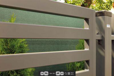 HDG tsingitud metallist aiad