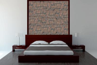 Naturaalselt murtud betoonist fassaadikivid